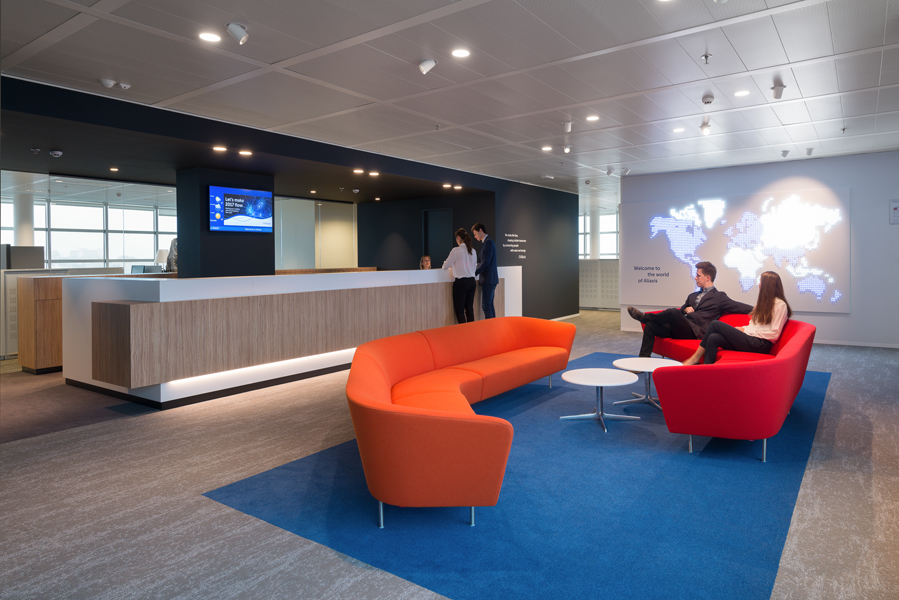 Aliaxis Office Project Heritage Carpets Official Site